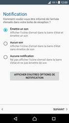Sony F3313 Xperia E5 - E-mail - Configuration manuelle - Étape 21