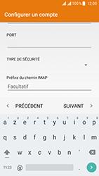 ZTE Blade V8 - E-mail - Configuration manuelle - Étape 14