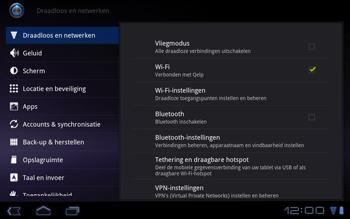 Huawei Mediapad S7-301u - Internet - Handmatig instellen - Stap 4