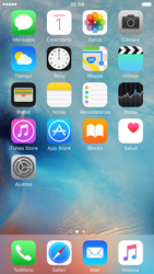 Apple iPhone 6s iOS 9 - Internet - Configurar Internet - Paso 1