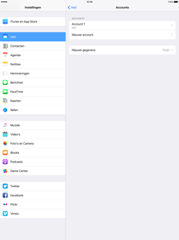 Apple iPad Pro 12.9 inch (2nd generation) - E-mail - Account instellen (POP3 met SMTP-verificatie) - Stap 26