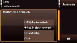 Nokia N97 Mini - MMS - probleem met ontvangen - Stap 9
