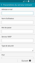 Samsung G850F Galaxy Alpha - E-mail - Configuration manuelle - Étape 9