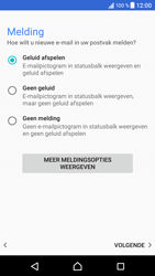Sony Xperia XZ - Android Nougat - E-mail - 032c. Email wizard - Outlook - Stap 12