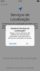 Apple iPhone 7 - iOS 10 - Primeiros passos - Como ativar seu aparelho - Etapa 10
