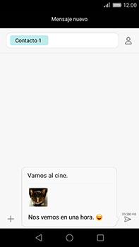 Huawei GX8 - Mensajería - Escribir y enviar un mensaje multimedia - Paso 18