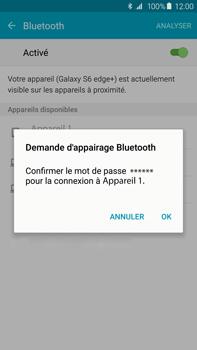 Samsung Galaxy S6 edge+ - WiFi et Bluetooth - Jumeler votre téléphone avec un accessoire bluetooth - Étape 7