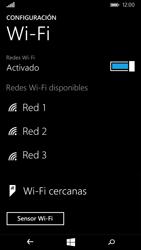 Microsoft Lumia 535 - WiFi - Conectarse a una red WiFi - Paso 6