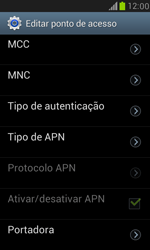Samsung I8190 Galaxy S III Mini - Internet (APN) - Como configurar a internet do seu aparelho (APN Nextel) - Etapa 13