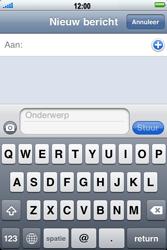 Apple iPhone 3G S - MMS - afbeeldingen verzenden - Stap 3