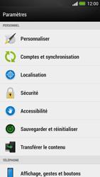 HTC One - Sécuriser votre mobile - Activer le code de verrouillage - Étape 4