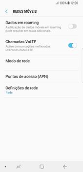 Samsung Galaxy S8 - Android Oreo - Internet no telemóvel - Como configurar ligação à internet -  8