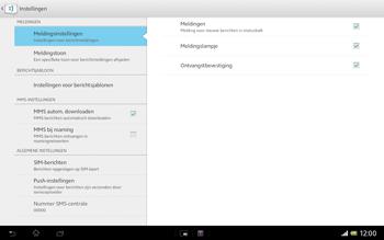 Sony SGP321 Xperia Tablet Z LTE - MMS - probleem met ontvangen - Stap 8