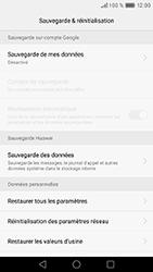 Huawei GT3 - Device maintenance - Retour aux réglages usine - Étape 7