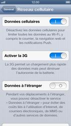Apple iPhone 5 - Internet - Désactiver les données mobiles - Étape 5