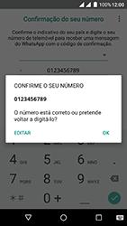 Wiko Fever 4G - Aplicações - Como configurar o WhatsApp -  7