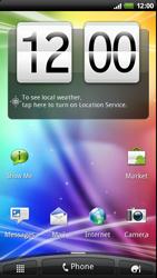 HTC Z710e Sensation - Mms - Sending a picture message - Step 1