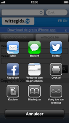 Apple iPhone 5 - Internet - Internetten - Stap 9
