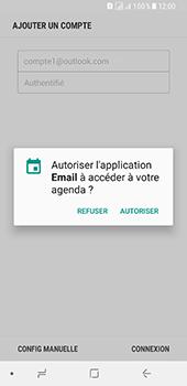 Samsung Galaxy A8 - E-mails - Ajouter ou modifier votre compte Outlook - Étape 11
