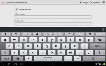 Samsung N8020 Galaxy Note 10-1 LTE - E-mail - Handmatig instellen - Stap 13