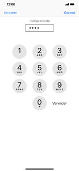Apple iPhone XS Max - Beveiliging - pas de pincode voor je simkaart aan - Stap 7