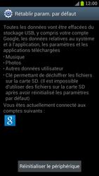 Samsung I9300 Galaxy S III - Device maintenance - Retour aux réglages usine - Étape 7