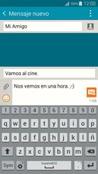 Samsung A500FU Galaxy A5 - Mensajería - Escribir y enviar un mensaje multimedia - Paso 14