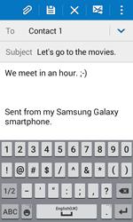 Samsung G318H Galaxy Trend 2 Lite - E-mail - Sending emails - Step 10