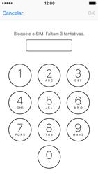Apple iPhone 5s iOS 10 - Segurança - Como ativar o código PIN do cartão de telemóvel -  6