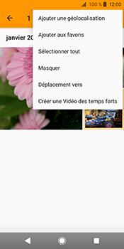 Sony Xperia XZ2 - Photos, vidéos, musique - Envoyer une photo via Bluetooth - Étape 10