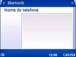 Nokia E5-00 - Bluetooth - Como ajustar configurações do Bluetooth - Etapa 10