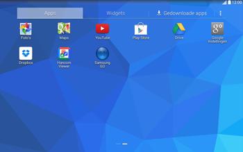 Samsung T535 Galaxy Tab 4 10-1 - Applicaties - Applicaties downloaden - Stap 3
