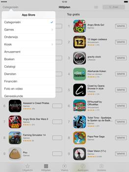 Apple iPad Air (Retina) met iOS 7 - Applicaties - Downloaden - Stap 6