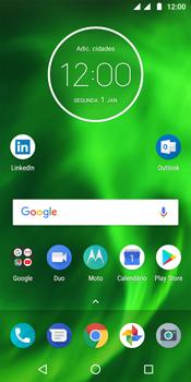Motorola Moto G6 - Internet no telemóvel - Como ativar os dados móveis -  1