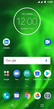Motorola Moto G6 - Email - Configurar a conta de Email -  1