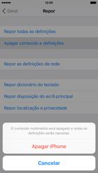 Apple iPhone 6 iOS 9 - Repor definições - Como repor definições de fábrica do telemóvel -  7