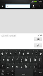 HTC One - MMS - envoi d'images - Étape 3