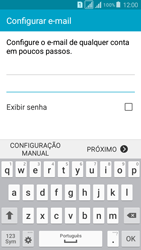 Samsung G530FZ Galaxy Grand Prime - Email - Como configurar seu celular para receber e enviar e-mails - Etapa 6