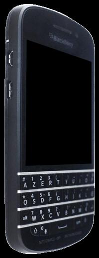 BlackBerry Q10 - Premiers pas - Découvrir les touches principales - Étape 5