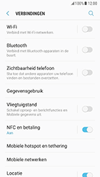 Samsung Galaxy S7 - Android Nougat - Internet - aan- of uitzetten - Stap 5