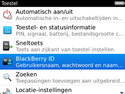 BlackBerry 9790 Bold - BlackBerry activeren - BlackBerry ID activeren - Stap 5