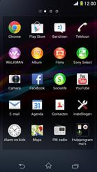 Sony C6903 Xperia Z1 - Internet - aan- of uitzetten - Stap 3