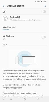 Samsung galaxy-note-9-sm-n960f - WiFi - Mobiele hotspot instellen - Stap 12