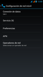 Wiko Stairway - Red - Seleccionar una red - Paso 6