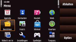 Nokia N97 Mini - SMS - handmatig instellen - Stap 3