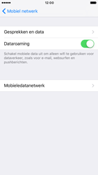 Apple iPhone 6s iOS 10 - Internet - Dataroaming uitschakelen - Stap 5