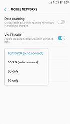 Samsung Galaxy J3 (2017) - Network - Change networkmode - Step 8