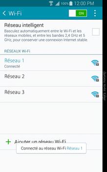 Samsung N915FY Galaxy Note Edge - WiFi et Bluetooth - Configuration manuelle - Étape 8