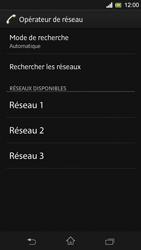 Sony C5303 Xperia SP - Réseau - Utilisation à l