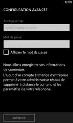 Nokia Lumia 625 - E-mail - Configuration manuelle - Étape 8
